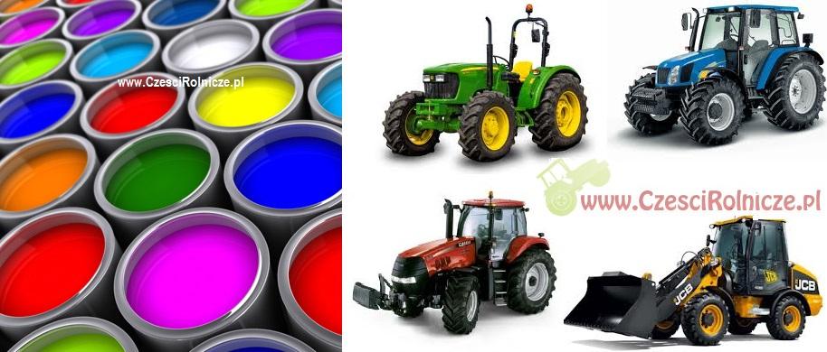 Farby do ciągników i maszyn rolniczych